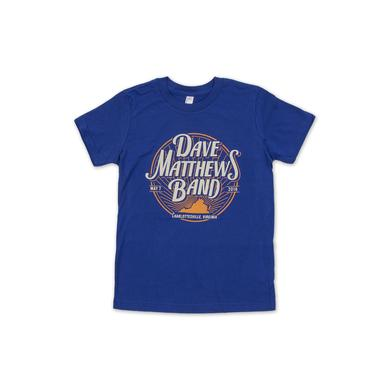 Dave Matthews Youth Charlottesville Event Tee