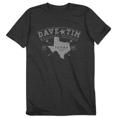 Dave Matthews Band Dave and Tim Texas Arrows Event Tee