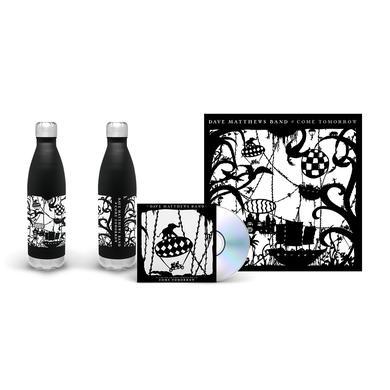 Dave Matthews Band Come Tomorrow Album + Water Bottle Bundle