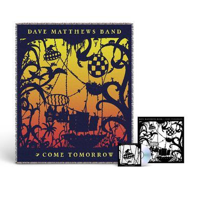 Dave Matthews Band Come Tomorrow Album + Blanket Bundle
