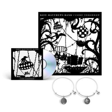 Dave Matthews Band Come Tomorrow Album + Silver Charm Bracelet Bundle