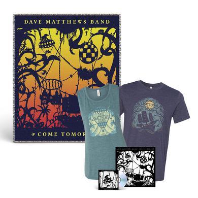 Dave Matthews Band Come Tomorrow + Shirt + Blanket Bundle