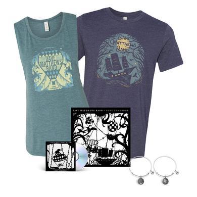 Dave Matthews Band Come Tomorrow + Shirt + Silver Charm Bracelet Bundle