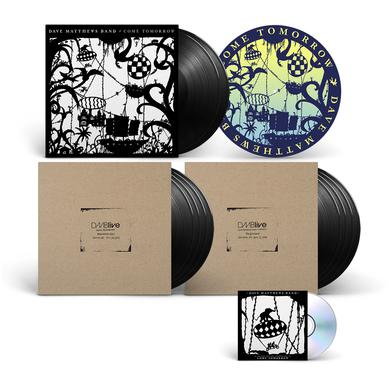 Come Tomorrow Vinyl + DMBLive Vinyl + Slipmat Bundle