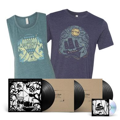 Come Tomorrow Vinyl + DMBLive Vinyl + Shirt Bundle