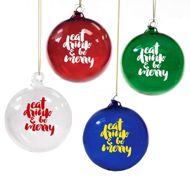 Dave Matthews Band Eat, Drink, & Be Merry Ornament