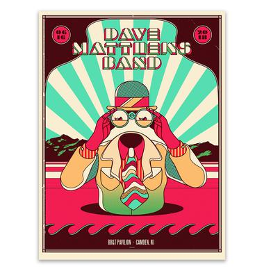 Dave Matthews Band Show Poster - Camden, NJ 6/16/2018