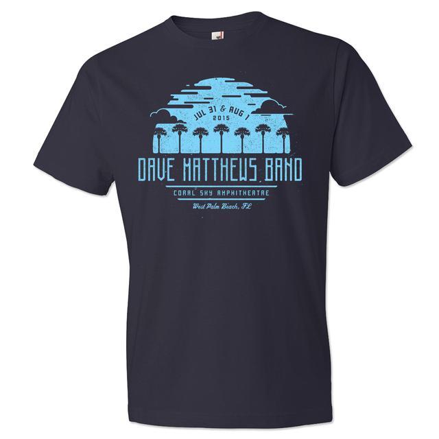 DMB Event T-shirt - West Palm Beach 7/31-8/1/2015