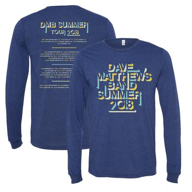 Dave Matthews Band 2018 Tour Long Sleeve T-Shirt