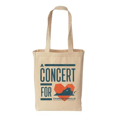 Dave Matthews Band Concert for Charlottesville Tote Bag