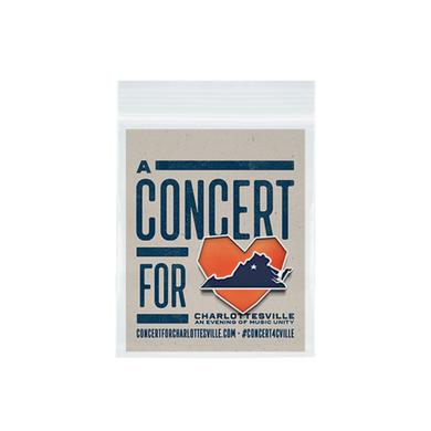 Dave Matthews Band Concert for Charlottesville Lapel Pin