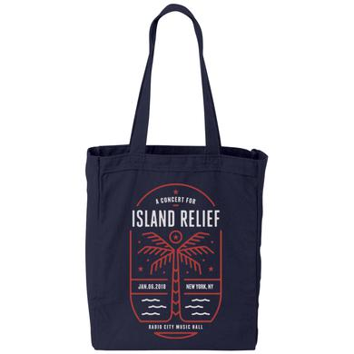 Dave Matthews Band Concert for Island Relief Tote Bag