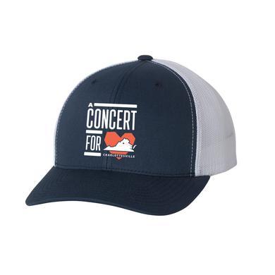 Dave Matthews Band Concert for Charlottesville Trucker Cap