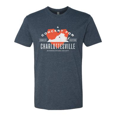Dave Matthews Band Concert for Charlottesville T - Heather Blue