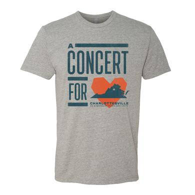 Dave Matthews Band Concert for Charlottesville T - Heather Grey