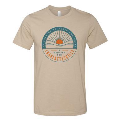 Dave Matthews Band Concert for Charlottesville T - Circle Logo