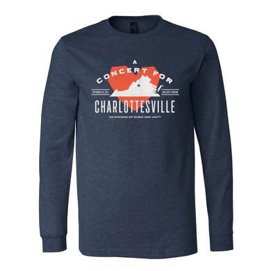 Dave Matthews Band Concert for Charlottesville Longsleeve