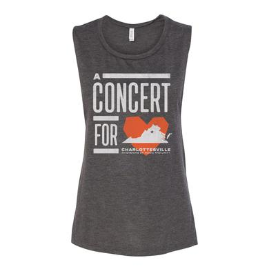 Dave Matthews Band Women's Concert for Charlottesville Muscle Tank
