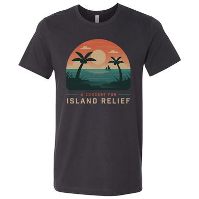 Dave Matthews Band Concert for Island Relief Ocean Scene T-Shirt