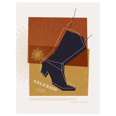 Calexico 2015 Fall Tour Poster