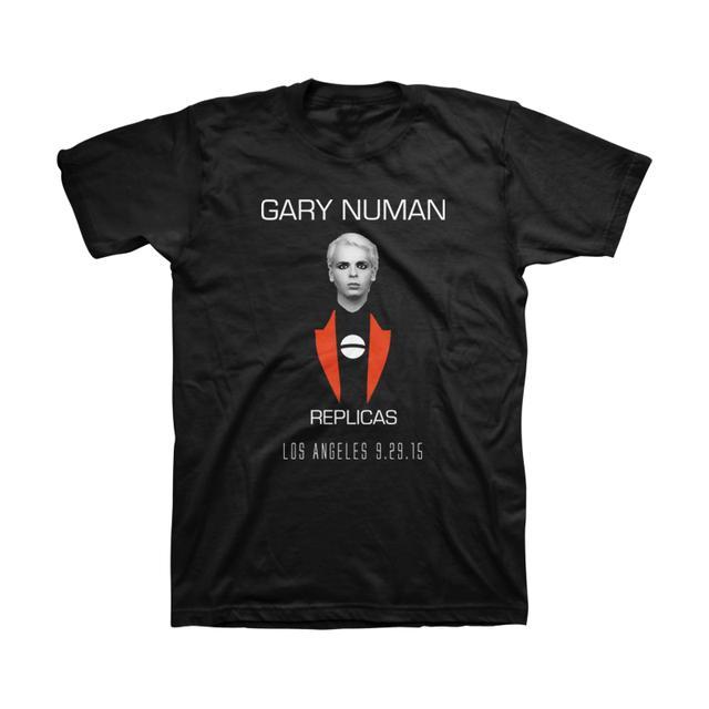Gary Numan Replicas LA 9-29-2015 Unisex Tee