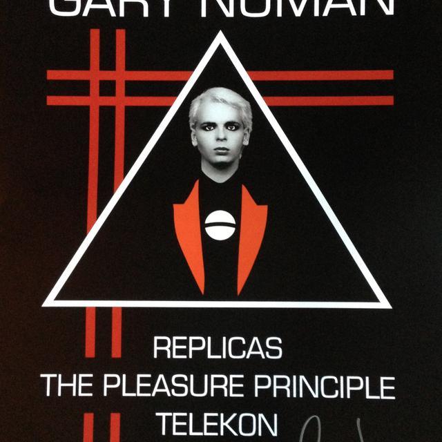 Gary Numan LA Tour Signed Poster