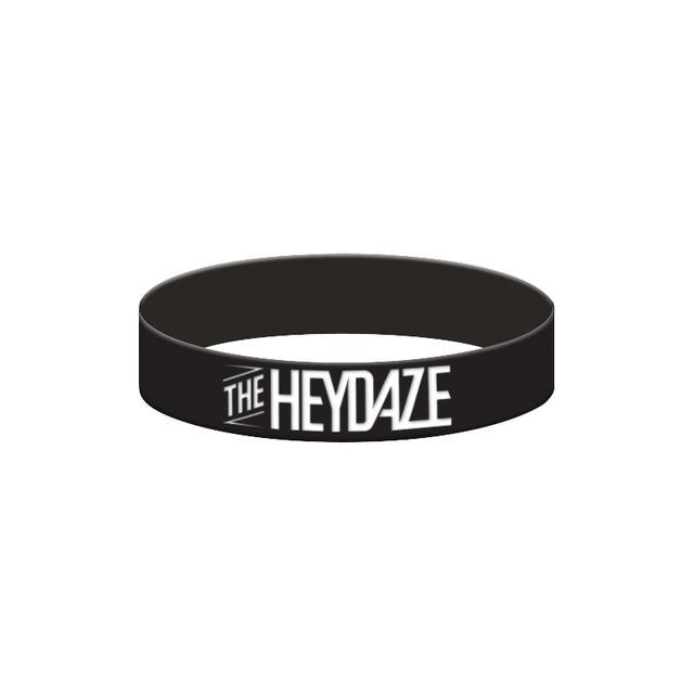 The Heydaze Black Logo Bracelet