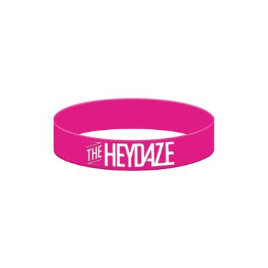 The Heydaze Hot Pink Logo Bracelet