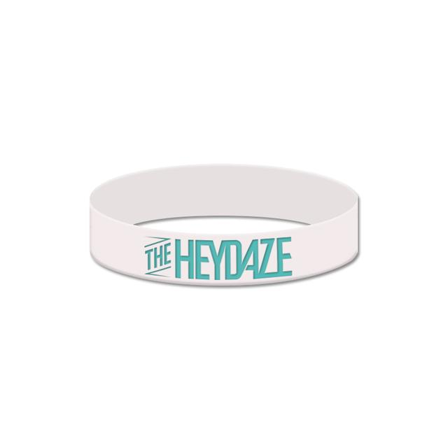 The Heydaze White Logo Bracelet