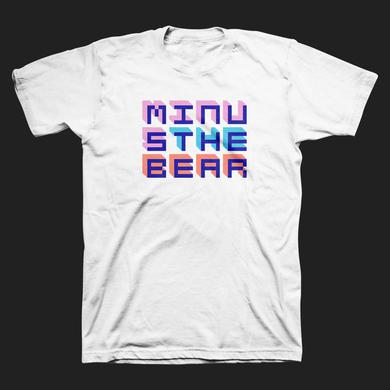 Minus The Bear Pixel Letters Tee