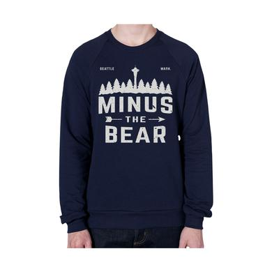 Minus The Bear Outdoorsy Pines Unisex Crewneck Sweatshirt