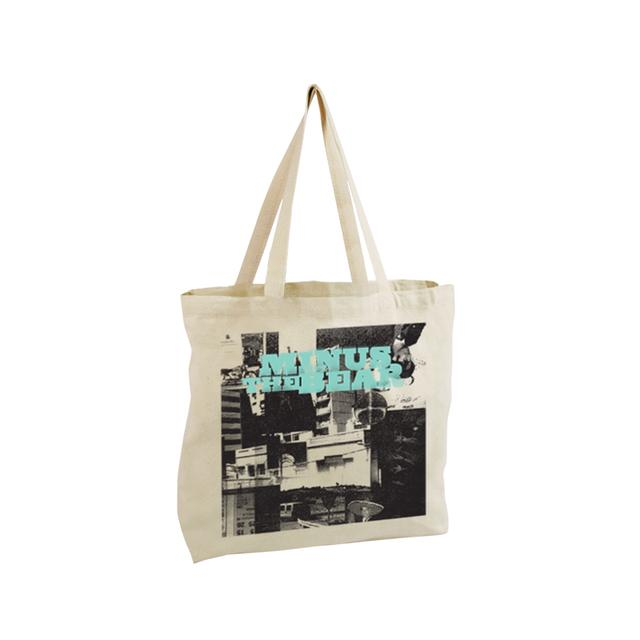 Minus The Bear Menos Collage Oversized Tote Bag