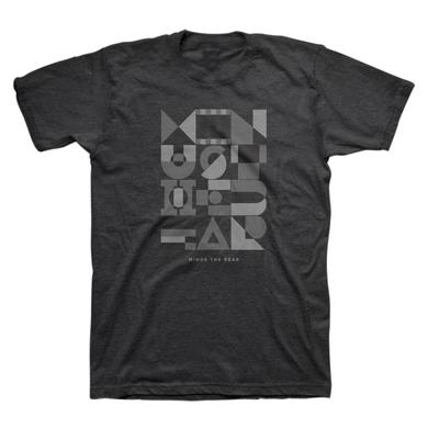Minus The Bear Geometric Monochromatic Unisex Tee