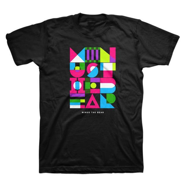 Minus The Bear Geometric Neon Unisex Tee