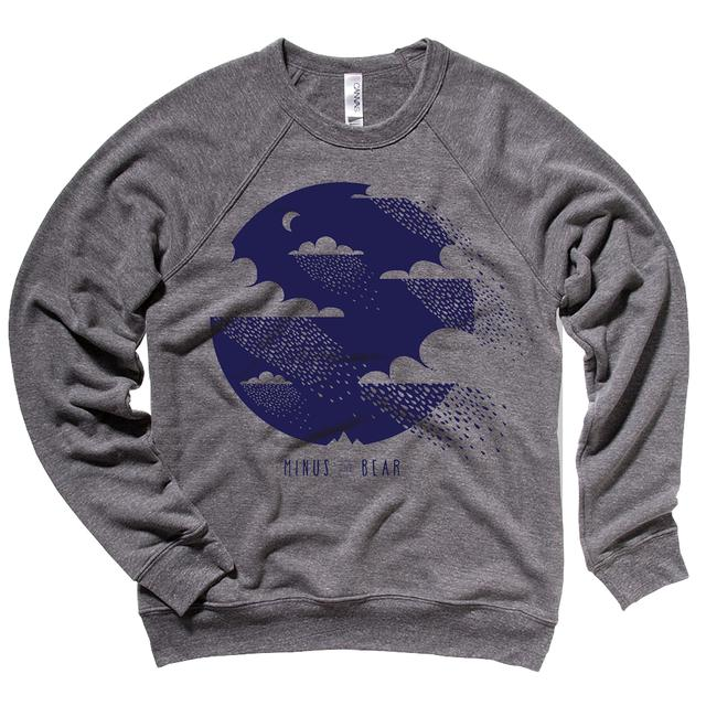 Minus The Bear Clouds Unisex Crewneck Sweatshirt