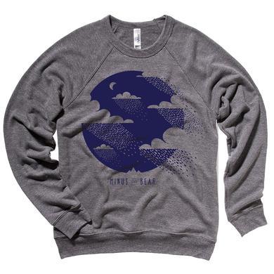 Minus The Bear Clouds Unisex Crewneck Sweatshirt