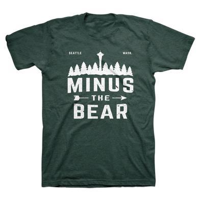 Minus The Bear Outdoorsy Pines Unisex Tee