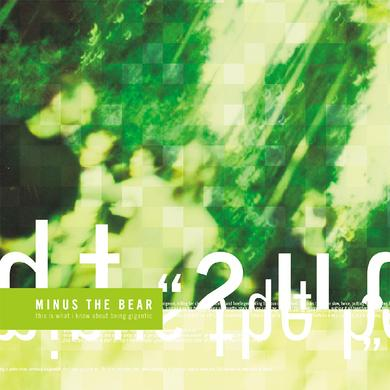 Minus The Bear This Is What I Know About Being Gigantic LP (White Vinyl)