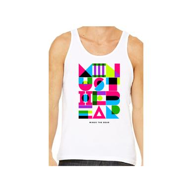 Minus The Bear Geometric Neon Unisex Tank