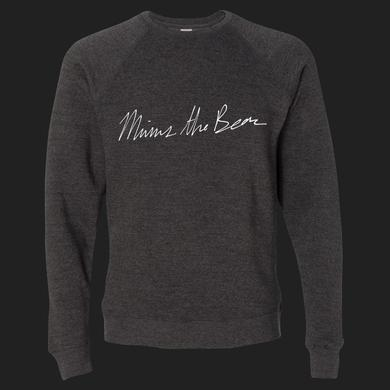 Minus The Bear Script Crewneck Sweatshirt