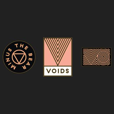 Minus The Bear VOIDS Enamel Pins