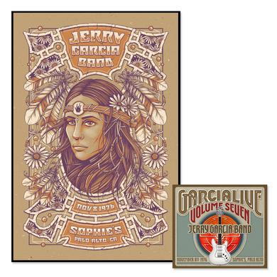 Jerry Garcia Band - GarciaLive Volume 7: CD & Poster Bundle