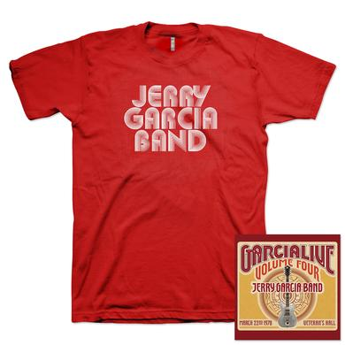 Jerry Garcia Band - GarciaLive Vol 4: 3/22/78 CD and T-Shirt Bundle