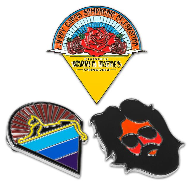 Jerry Garcia Collectible Pin Bundle