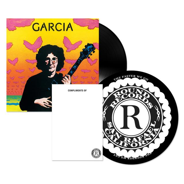 Jerry Garcia Compliments LP, Notepad, and Slipmat Bundle