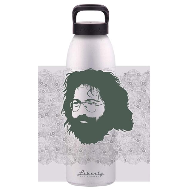 Jerry Garcia Henna Water Bottle