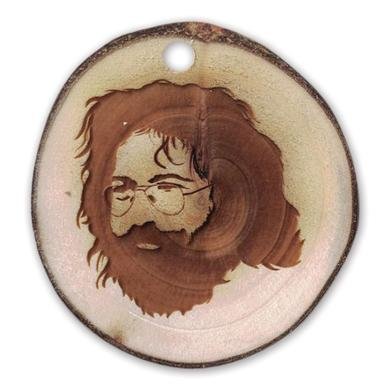 Jerry Garcia Reclaimed Wood Aspen Ornament