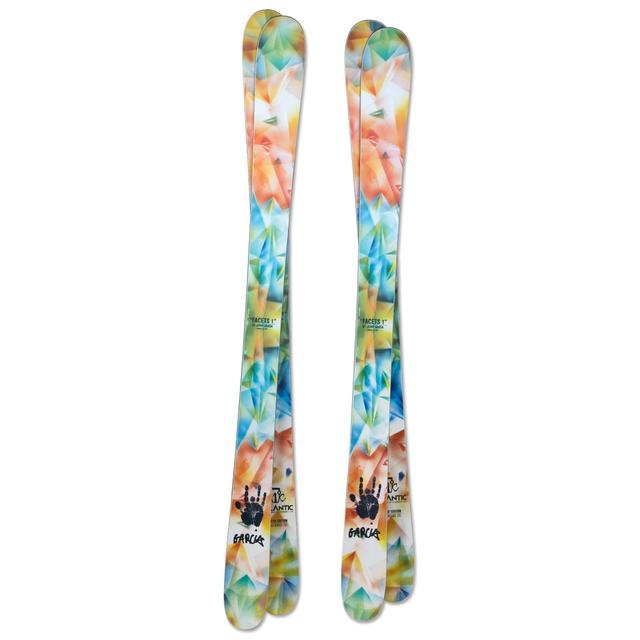 """Limited Edition Jerry Garcia """"Facets 1"""" Icelantic Skis"""