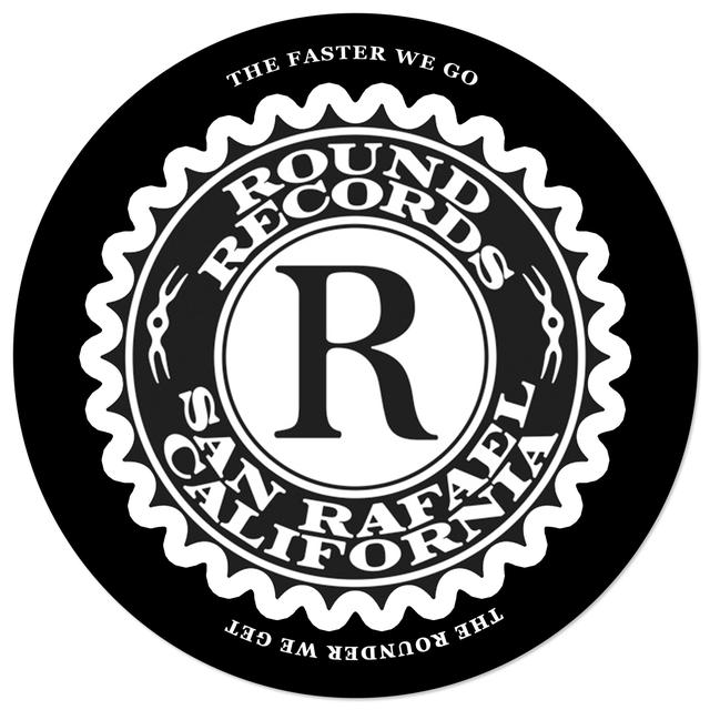 Jerry Garcia Round Records Slipmat