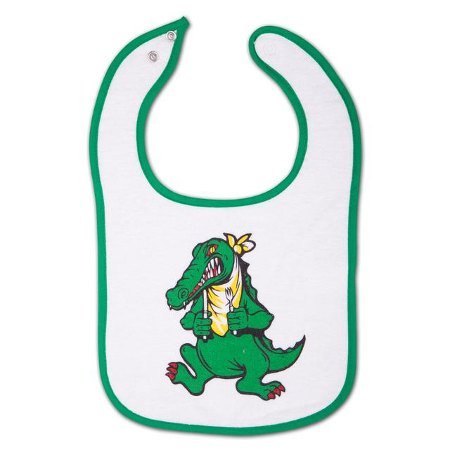 Jerry Garcia Alligator Infant Snap Baby Bib